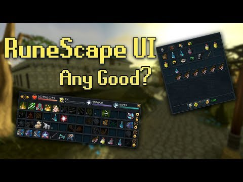 The Runescape UI: Is it Any Good?