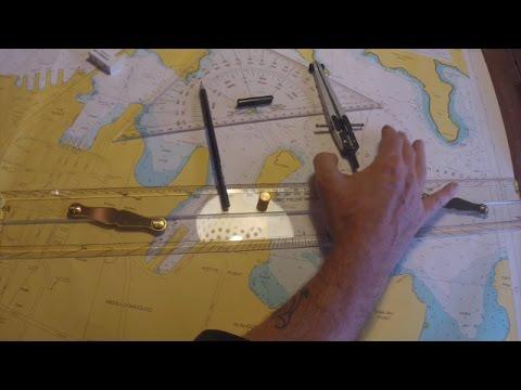 Sea charts for coastal navigation