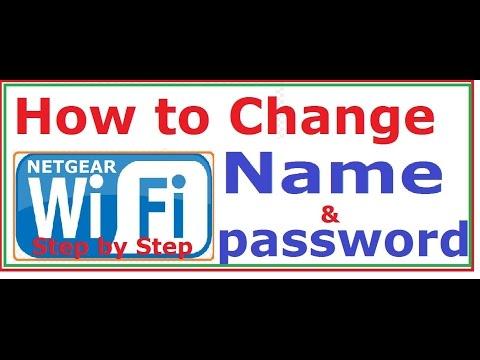 how to change ROUTER wifi name and password step by step |Easily| NETGEAR