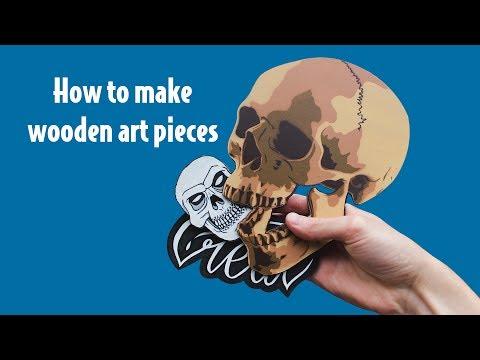 Wooden Skull | C-REATIVE #1