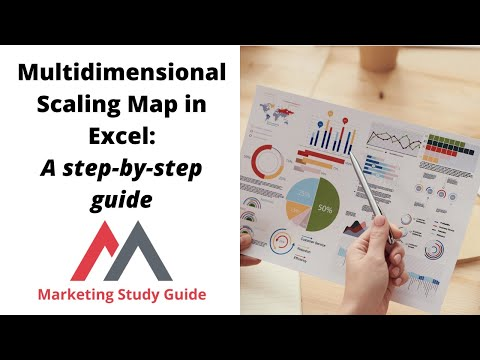 Multidimensional Scaling Map in Excel: A step-by-step guide