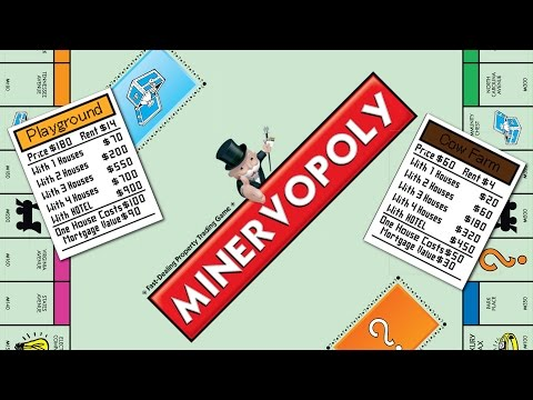Making a Monopoly Card in Minecraft