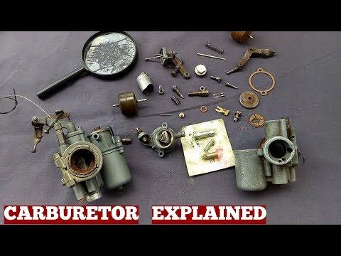 Carburetor-How Carburetor Works-Dellorto Carburetor-Lambretta Scooter Carburetor Explanation Part 1