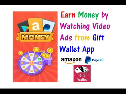Gift Wallet App | Earn Money by Watching Video Ads