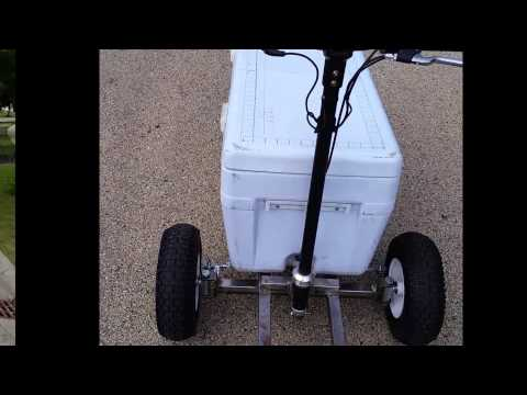 Electric Ride On Cooler Project