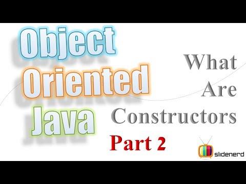 22 Java Constructor Tutorial Example |