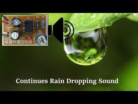 Rain Drop Sound Maker DIY Project