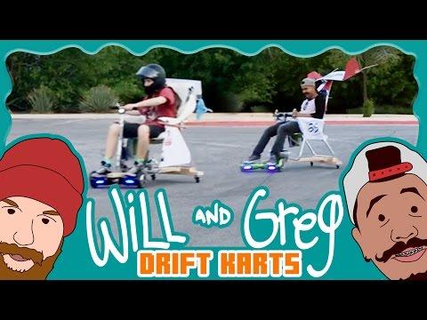 Will & Greg Show: Custom Drift Karts (Ep. 3)
