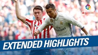 Extended Highlights Real Madrid takes San Mames