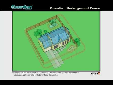 Guardian In-Ground Containment : Installation and Pet Training  - Part 1