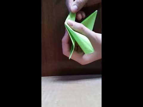 Making a flappy bird origami