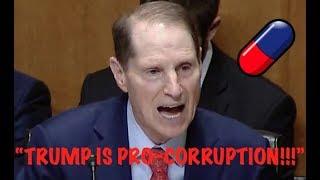 """TRUMP IS PRO-CORRUPTION!!!"" Ron Wyden HUMILIATES Trump for His Love of Putin & Dark Money Evils"