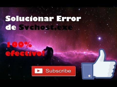 Como solucionar el Error de Svchost.exe (Consume Mucha Memoria)