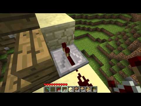 Minecraft - Tutorial: Simple Piston Elevator