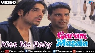 Kiss Me Baby Full Video Song : Garam Masala | Akshay Kumar, John Abraham |