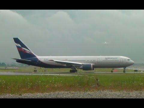 [HD] Aeroflot 767-300ER Takeoff on Runway 23 at Toronto (YYZ)