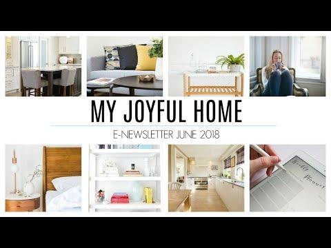My Joyful Home   June 2018 - Marie Kondo New Book, KonMari App Updates & More!