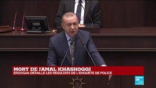 REPLAY - Erdogan s'exprime devant le Parlement sur le meurtre de Jamal Khashoggi