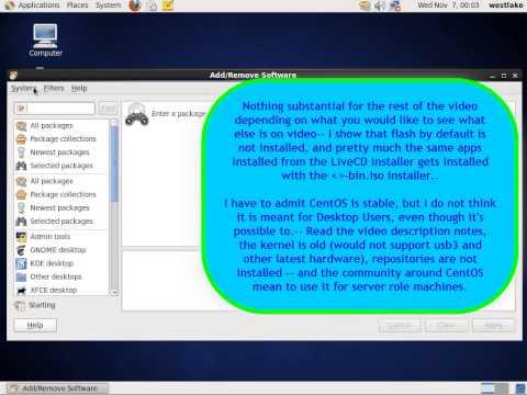 CentOS 6.3 installation demo, Part 2 of 2