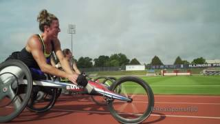 Tatyana McFadden-Paralympic Superstar: Real Sports Trailer (HBO)