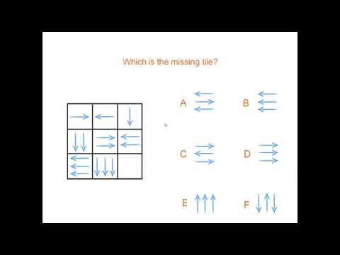 arrows - iq test complete the sequence