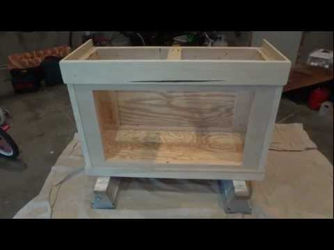 90 gal. Reef Tank Stand Build (part2)