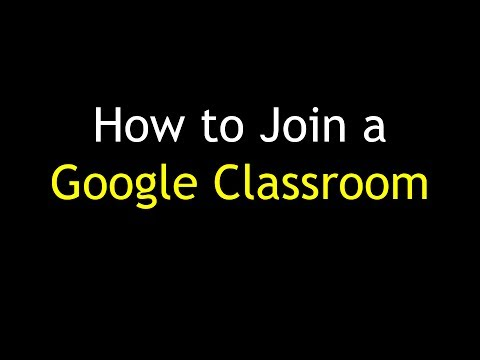 How to join a Google Classroom (gmail-based)