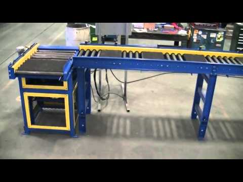 Oven Discharge Accumulation Conveyor with Right Angle Chain Transfer