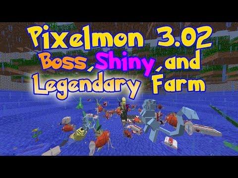 Pixelmon: Boss, Shiny, and Legendary Farm