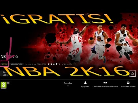¡¡NOTICIÓN!! ¡¡NBA 2K16 GRATIS!! `Descargar PS-Store´ Gameplay Online NBA 2K15, el triple ganador!!