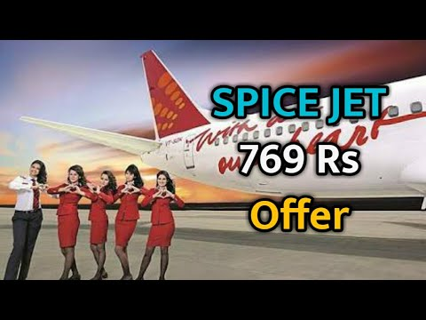 Spice Jet Book Flight Ticket At 769 Rs - Republic Day Offer 2018