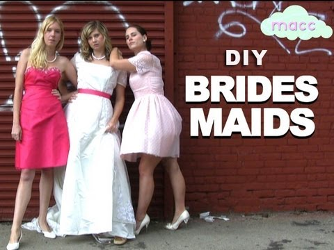 3 DIY Costumes: Bridesmaids, Zombies and Carrie