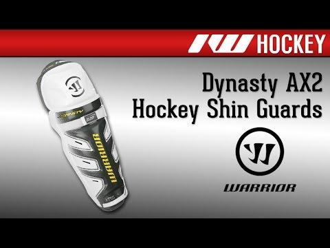 Warrior Dynasty AX2 Hockey Shin Guard Review