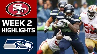 49ers vs. Seahawks | NFL Week 2 Game Highlights