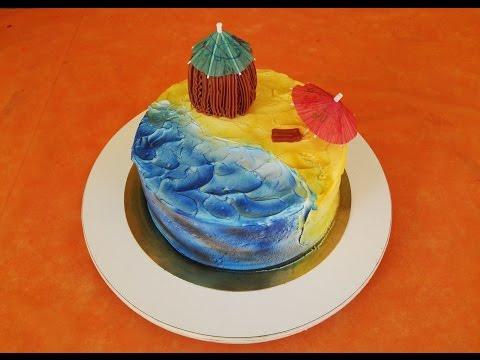 Airbrush Cake Decorating
