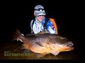 SHORE FISHING HUGE TARPON SNAPPER JACKS IN GABON AFRICAS BEST FISHING SPOT