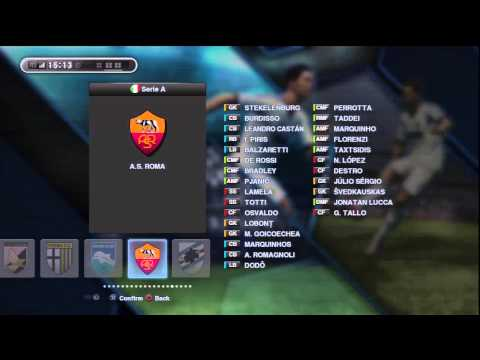 Pes 2013 Importing your team