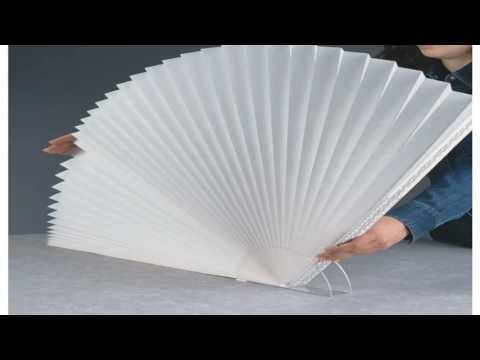 Arch Light Filtering Paper Shade White 72 x 36
