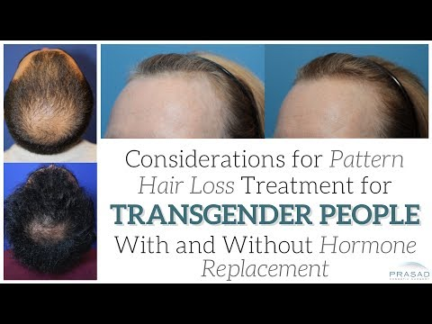Why Pattern Hair Loss is Not Only Caused by Hormones, and Hair Loss Treatment for Transgender People
