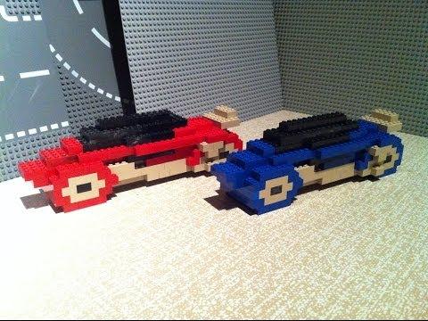 Building Lego LightBike(TRON-1982)