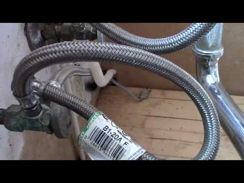 How to arch a drain hose - water in bottom of dishwasher fix