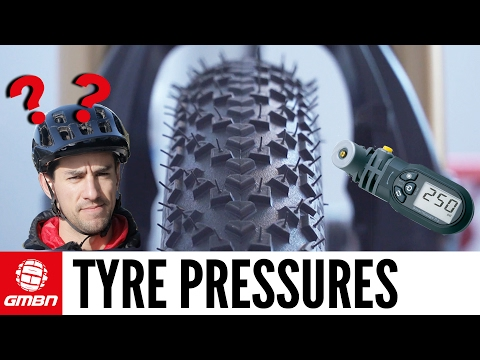 Mountain Bike Tyre Pressures – Everything You Need To Know