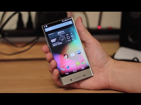 Sharp Aquos Crystal Unboxing
