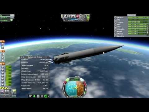 Kerbal Space Program (0.23) - Realism Overhaul 004 - Scrambling for Orbit II