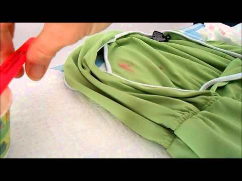 Anyone Can Remove Crayon from Clothing