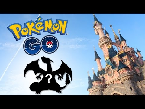 POKEMON GO À DISNEYLAND PARIS