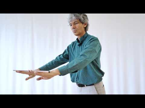 Preparatory exercises for eurythmy with copper rods