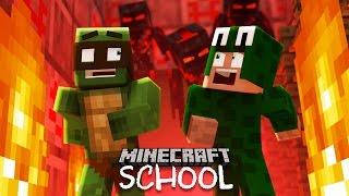 Minecraft School -  ESCAPING HELL!
