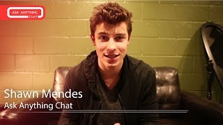 Shawn Mendes MRL Ask Anything Chat w/ Romeo (Full Version)