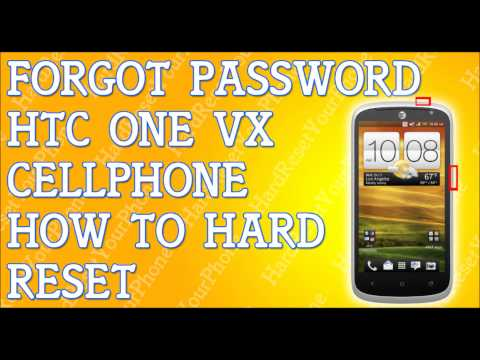 Forgot Password HTC One VX How To Hard Reset